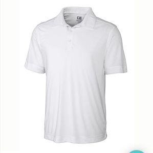 NWT Cutter & Bucks white polo shirt